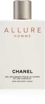 Chanel Allure Homme gel de duș pentru bărbați