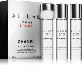 Chanel Allure Homme Sport eau de toilette recarga para homens