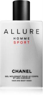 Chanel Allure Homme Sport sprchový gél pre mužov