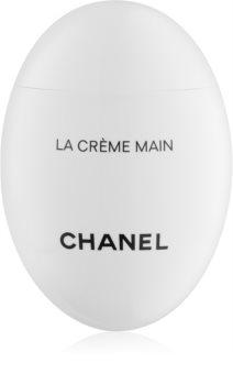 Chanel La Crème Main Fugtgivende håndcreme og negle med lysnende effekt