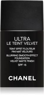 Chanel Ultra Le Teint Velvet hosszan tartó make-up SPF 15