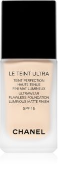 Chanel Le Teint Ultra langanhaltendes mattierendes Make up SPF 15