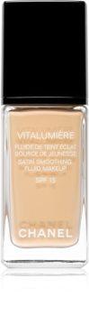 Chanel Vitalumière maquillaje líquido