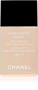 Chanel Vitalumière Aqua ultraleichtes Foundation für ein strahlendes Aussehen der Haut