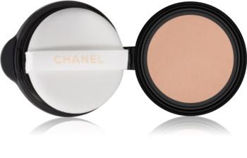 Chanel Les Beiges кремова компактна пудра-основа змінне наповнення