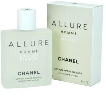 Chanel Allure Homme Édition Blanche lotion après-rasage pour homme