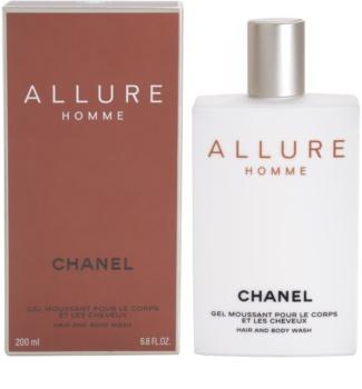 Chanel Allure Homme гель для душа для мужчин