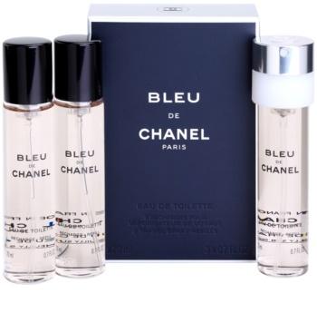 Chanel Bleu de Chanel Eau de Toilette γέμιση για άντρες