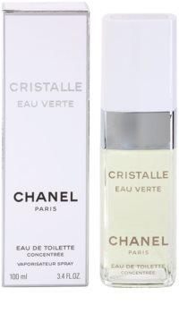 Chanel Cristalle Eau Verte Concentrée Eau de Toilette pentru femei