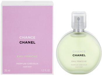 Chanel Chance Eau Fraîche Hiussumu Naisille