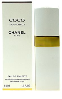 Chanel Coco Mademoiselle eau de toilette recarregável para mulheres