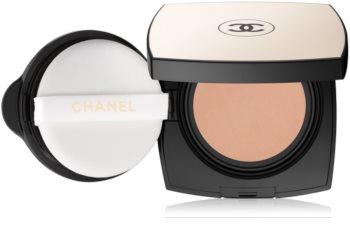 Chanel Les Beiges Healthy Glow Gel Touch Foundation дълготраен грим в гъбичка SPF 25