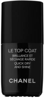 Chanel Le Top Coat топ защитен лак за нокти с гланц