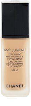 Chanel Mat Lumière matující make-up SPF 15