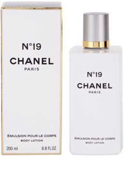 Chanel N°19 leche corporal para mujer 200 ml