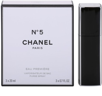 Chanel N°5 Eau Première eau de parfum (1x recargable + 2x recarga) para mujer