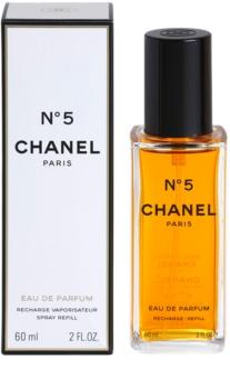 Chanel N°5 parfumovaná voda náplň s rozprašovačom pre ženy