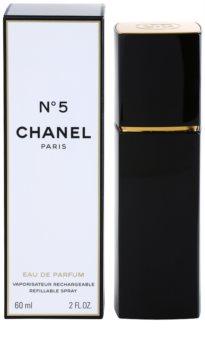 Chanel N°5 eau de parfum recarregável para mulheres