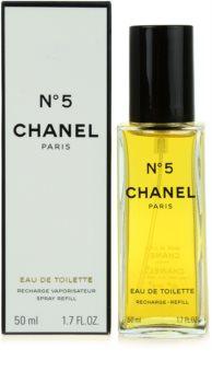 Chanel N°5 Eau de Toilette rezerva pentru femei
