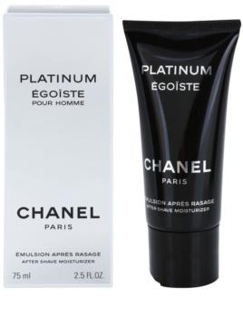 Chanel Égoïste Platinum emulsión after shave para hombre