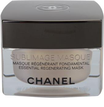 Chanel Sublimage máscara regeneradora para rosto