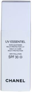 Chanel UV Essentiel opalovací mléko na obličej SPF 30