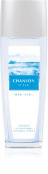 Chanson d'Eau Mar Azul deo mit zerstäuber für Damen