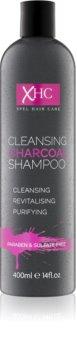 Charcoal Cleansing Shampoo šampon s aktivními složkami uhlí bez obsahu sulfátů