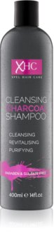 Charcoal Face and Body Shampoo with Activated Charcoal Sulfate-Free