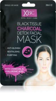 Charcoal Mask Detox-Maske