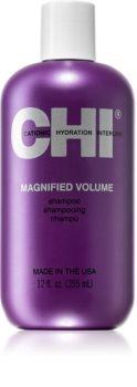 CHI Magnified Volume tömegnövelő sampon a selymes hajért
