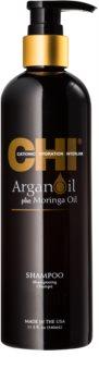 CHI Argan Oil Närande schampo för torrt och skadat hår