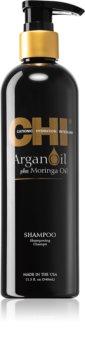 CHI Argan Oil Ravitseva Hiustenpesuaine Kuiville Ja Vaurioituneille Hiuksille