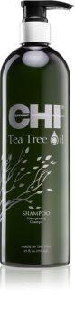 CHI Tea Tree Oil champú para cabello graso y cuero cabelludo