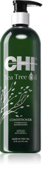 CHI Tea Tree Oil Virkistävä Hoitoaine Rasvoittuville Hiuksille Ja Päänahalle