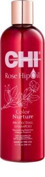 CHI Rose Hip Oil shampoo per capelli tinti