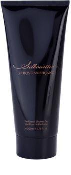 Christian Siriano Silhouette gel de duche para mulheres 200 ml