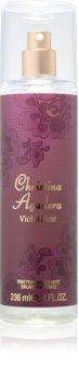 Christina Aguilera Violet Noir spray corpo da donna