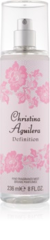 Christina Aguilera Definition Body Spray for Women