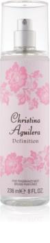 Christina Aguilera Definition tělový sprej pro ženy