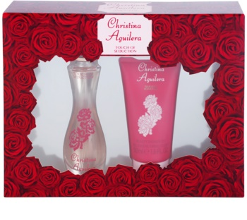 Christina Aguilera Touch of Seduction lote de regalo I.