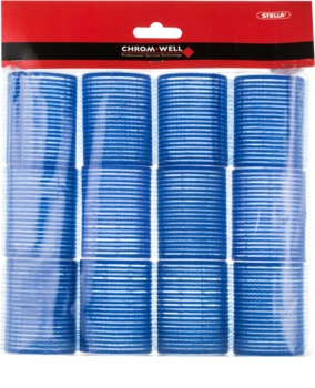 Chromwell Accessories Blue samodržící natáčky na vlasy