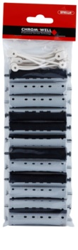 Chromwell Accessories Black/Grey Perm Rollers