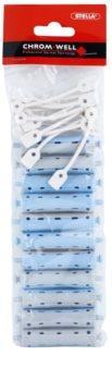 Chromwell Accessories Blue/Grey Haarwickler für Dauerwelle