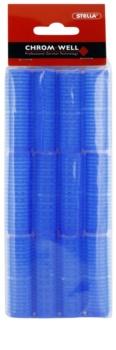 Chromwell Accessories Blue Öntapadós hajcsavarók
