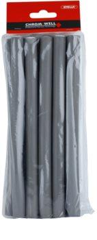 Chromwell Accessories Grey Bendy Rollers - Medium