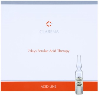 Clarena Acid Line Ferulac tratamiento antiarrugas de 7 días en ampollas