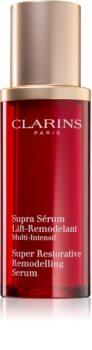 Clarins Super Restorative Remodelling Serum активен серум за изглаждане на контурите на лицето