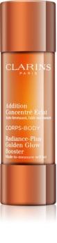 Clarins Radiance-Plus Golden Glow Booster picaturi pentru bronzare pentru corp