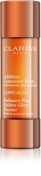 Clarins Radiance-Plus Golden Glow Booster σταγόνες αυτομαυρίσματος για το σώμα
